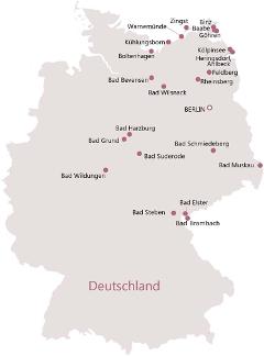 Klick zu Kurreisen innerhalb Deutschlands (Übersicht)