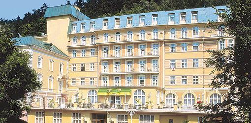 Spa-Hotel Vltava Vorderansicht